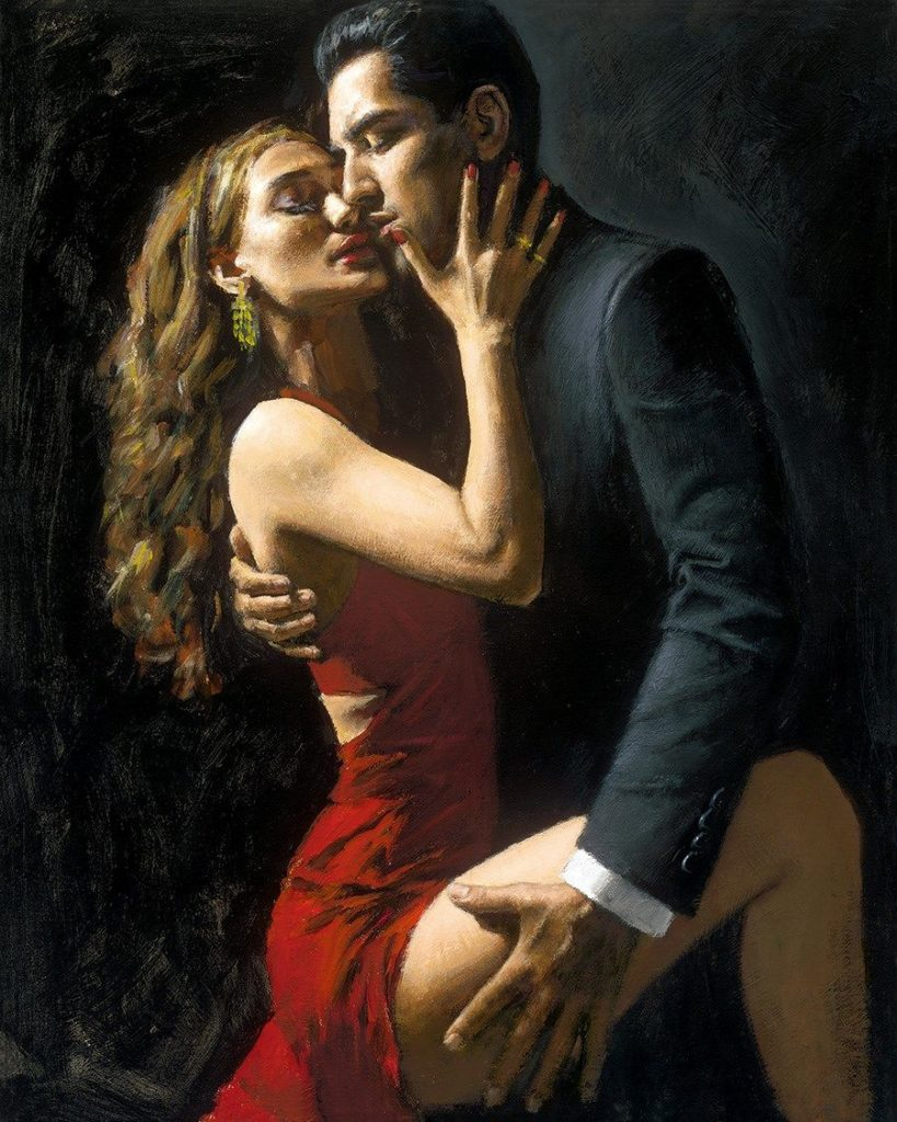 Tango En San Telmo - fabian Perez