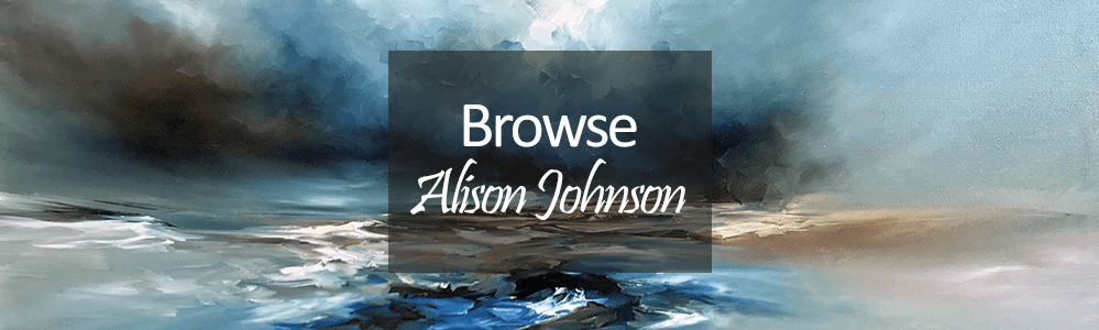 alison johnson artwork grey seascape