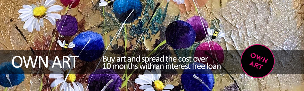 Own Art - Spead the cost over 10 months interest free.