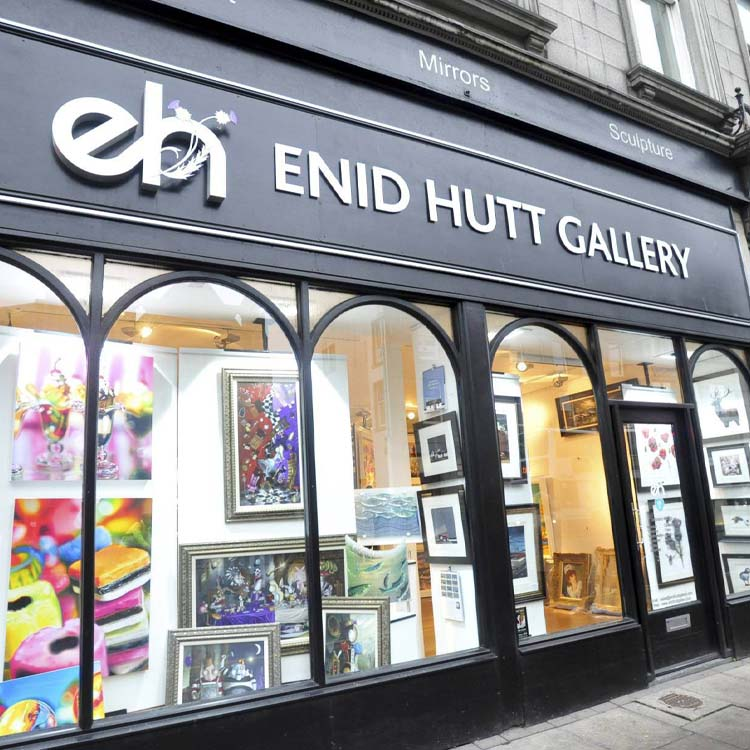 Visit Enid Hutt galleries in Kirkcaldy & Aberdeen