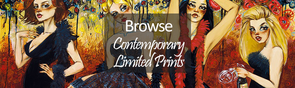 contemporary limited edition print