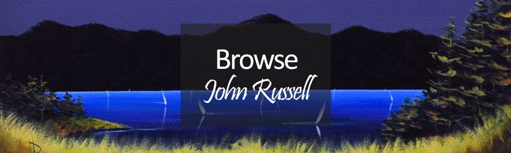 New Art John Russell Landscapes, seascapes and sailing paintings