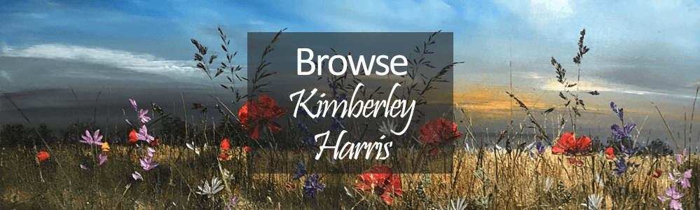Kimberley Harris Original Flower Paintings