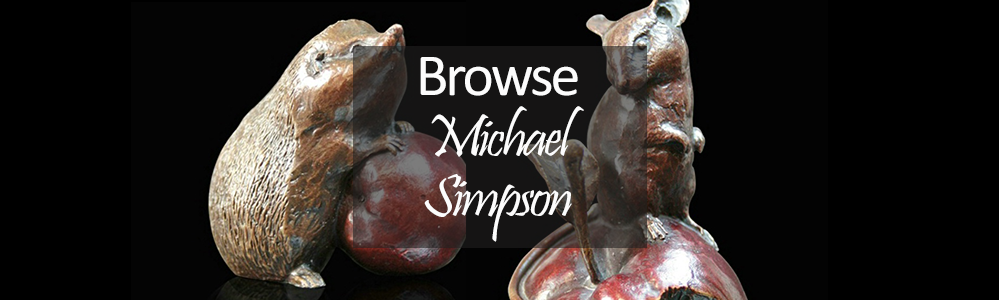 Michael Simpson Bronze Sculpture