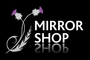 Mirror Shop Logo