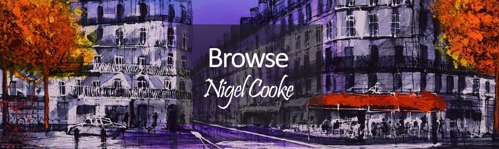New Nigel Cooke Art