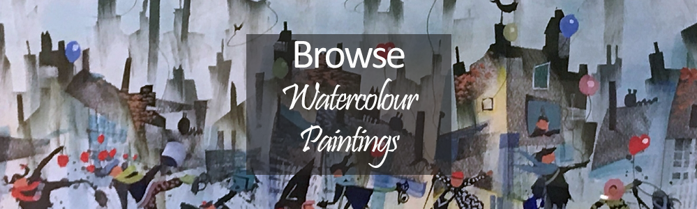 Shop By Different Medium - Watercolour Paintings