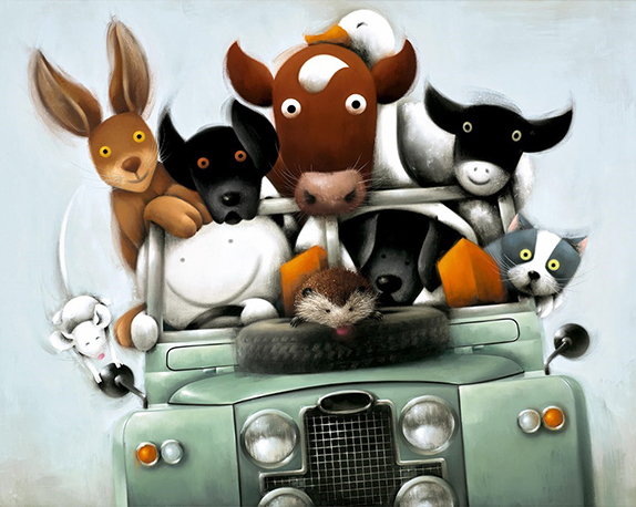 Overloaded with Love by Doug Hyde (Original Art and Limited Edition Prints)