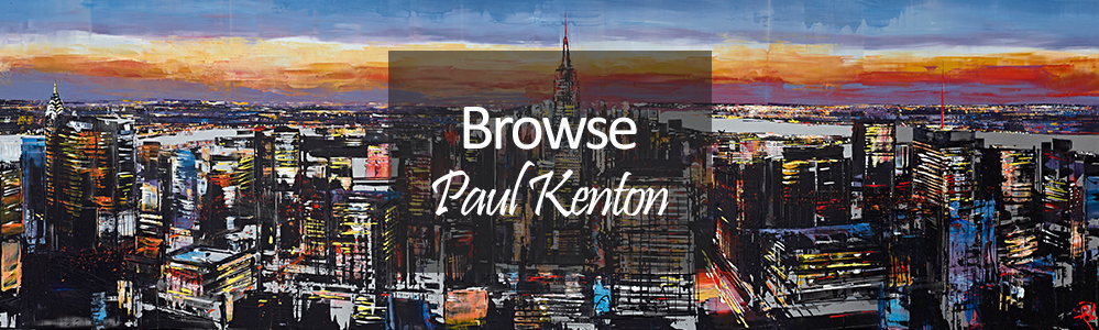 New Paul Kenton Original and Limited Edition Art