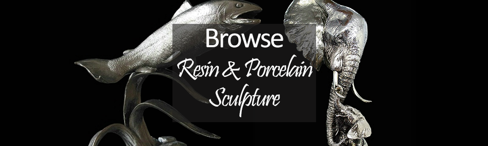 Shop By Different Medium - Resin and Porcelain Sculpture