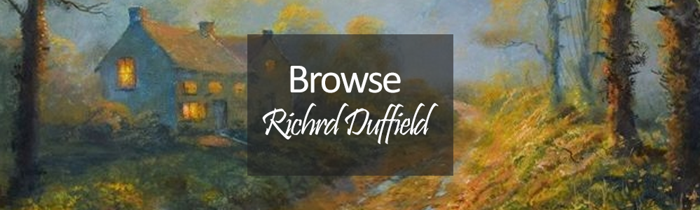 New Richard Duffield Painting and Original Art - Featuring Old Farm Track Original Painting