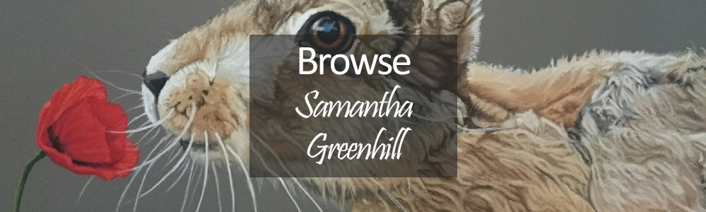Samantha Greenhill Original - Hare (Close Up)