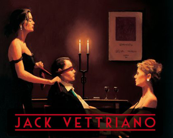 Wicked Games by Jack Vettriano (Signed Limited Edition Prints)